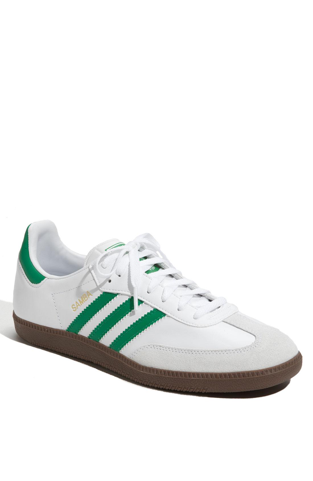 adidas samba sneaker green in green for men lyst. Black Bedroom Furniture Sets. Home Design Ideas