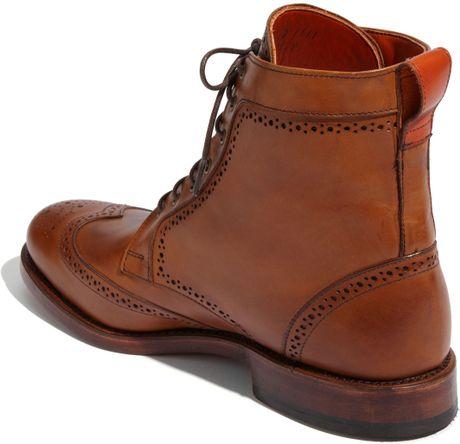 Allen Edmonds Dalton Boot In Brown For Men Burnished