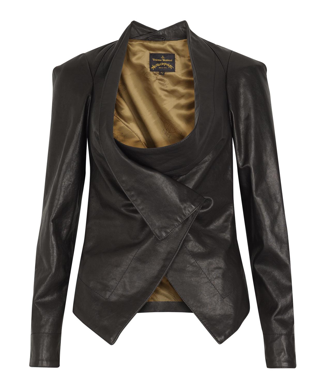 Vivienne westwood leather jacket