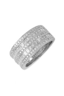 Bony Levy Multi Row Diamond Ring (nordstrom Exclusive) - Lyst