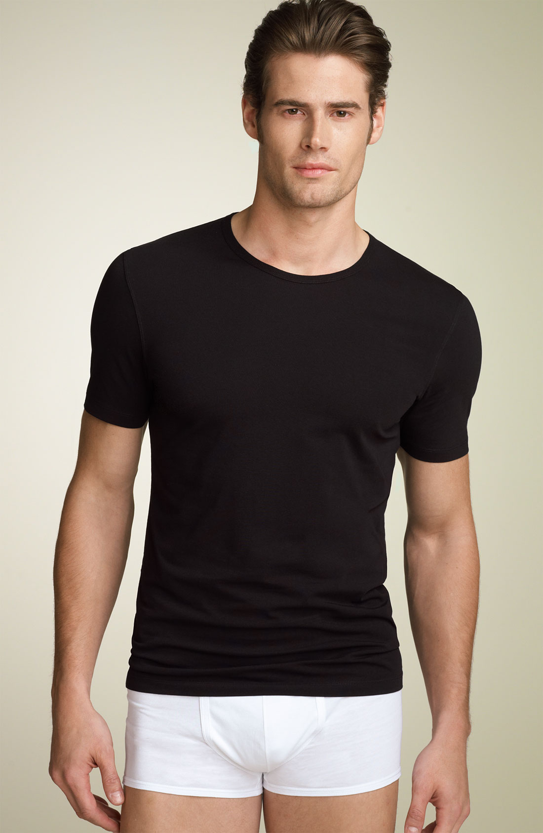 Burberry Body Crewneck T-shirt in Black for Men | Lyst