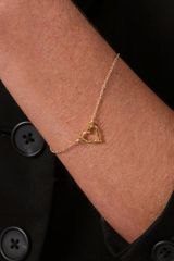 Gorjana Friendship Heart Bracelets in Gold - Lyst