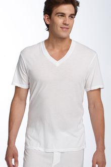 James Perse Lounge V-neck T-shirt - Lyst