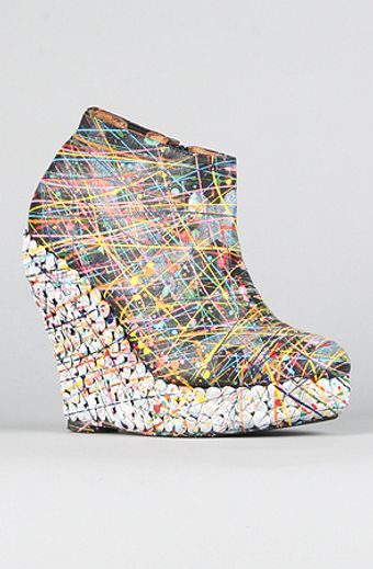 Jeffrey Campbell The Ticket Shoe in Black Paint - Lyst