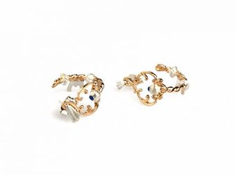 Jessica De Lotz Jewellery Victorian Inspired Mini Key Earrings. - Lyst