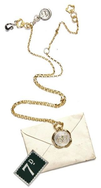 Jessica De Lotz Jewellery Hand Stamped Handcuff Wax Seal Necklace. in Gold (silver) - Lyst