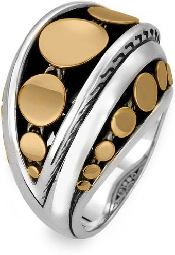 John Hardy Dot Deco Dome Ring - Lyst