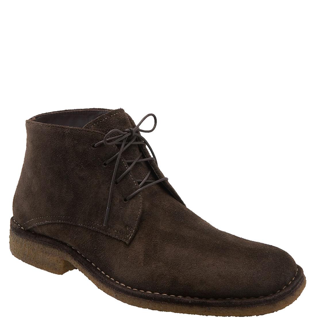 johnston murphy runnell chukka boot in brown for