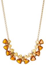Kate Spade Fly Girl Short Butterfly Necklace - Lyst