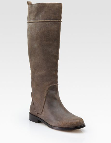 kors by michael kors nicolette distressed leather knee