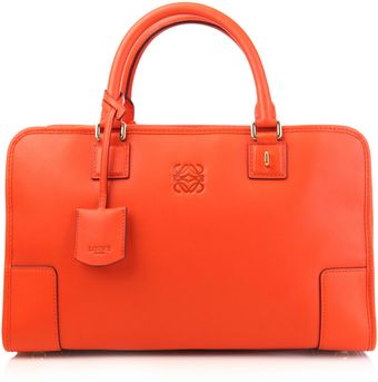 Loewe Amazona Calf-leather Bag - Lyst