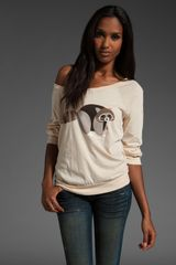 Marc By Marc Jacobs Rickie Raccoon Tee in Just Tan Multi - Lyst