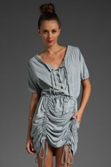 Marc By Marc Jacobs Sparrow Dress in Renoir Blue Melange - Lyst