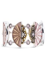 Mars And Valentine Love & Happiness Fan Bracelet - Lyst