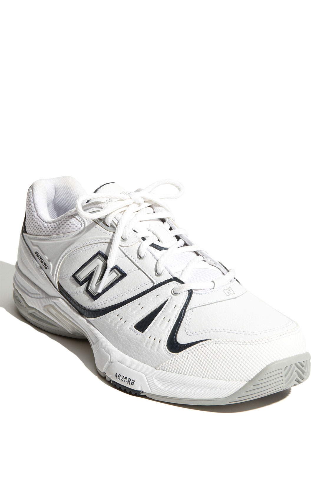 new balance 655 tennis shoe in white for lyst