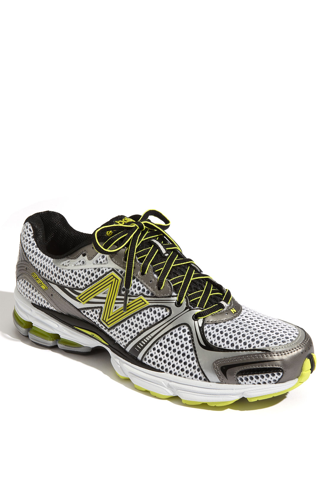 new balance 880 running shoe in yellow for lyst