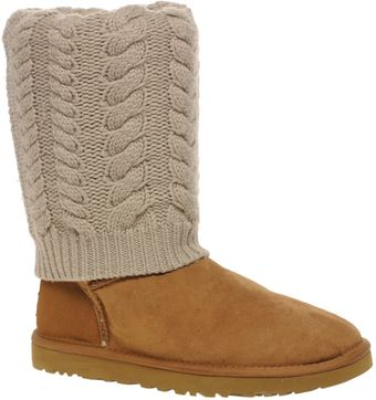 Ugg Tularosa Route Detachable Knit Boots - Lyst