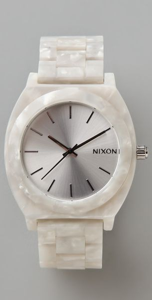 Nixon Time Teller Acetate Watch - Lyst