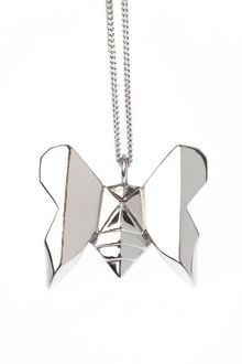 Origami Jewellery Necklace Butterfly - Lyst
