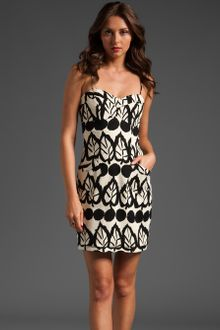 Plenty By Tracy Reese Frock By Tracy Reese Jessica Strapless Dress - Lyst