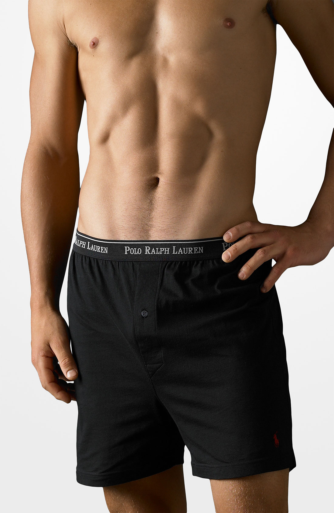 lyst polo ralph lauren boxers 3 pack in black for men. Black Bedroom Furniture Sets. Home Design Ideas