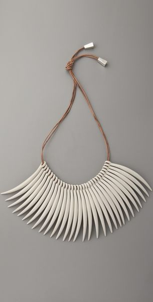 Sass & Bide My Mark Tusk Neck Piece - Lyst