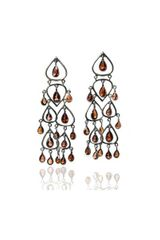 Sikara & Co. Sikaras Jaipuri Chandelier Earrings - Lyst