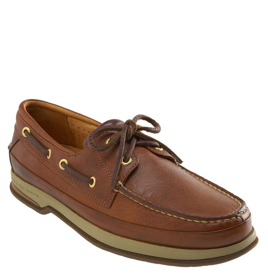 Sperry Top Sider Gold Cup 2 Eye Boat Shoe In Brown For Men