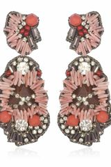 Suzanna Dai Coral Malé Drop Earrings - Lyst
