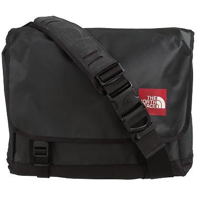 the north face base camp laptop messenger bag black in. Black Bedroom Furniture Sets. Home Design Ideas