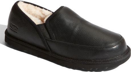 Ugg Grafton Slipper (men) in Black for Men - Lyst