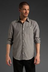 Comune Howard Long Sleeve Woven Shirt - Lyst