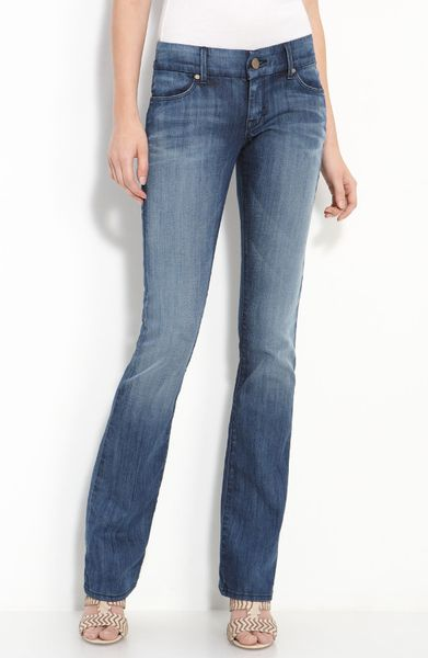 Dylan George Sandra Baby Bootcut Jeans Chrystie Wash