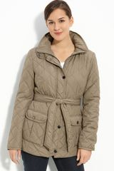 Ellen Tracy Lightweight Quilted Jacket - Lyst