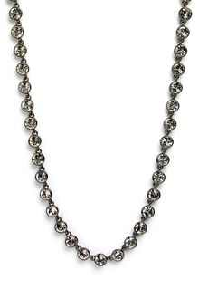 Givenchy Crystal Station Long Necklace - Lyst