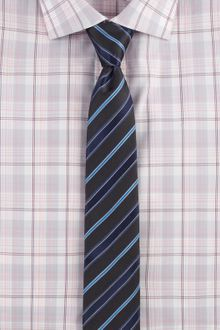 Hugo Striped Silk Tie - Lyst
