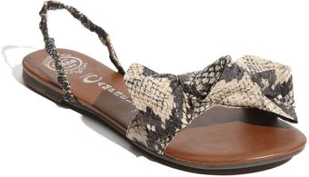 Jeffrey Campbell Big Bow Sandal - Lyst