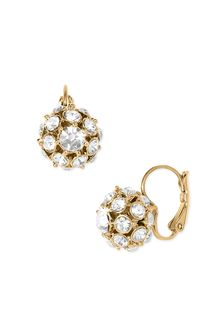 Kate Spade Ball Cluster Earrings - Lyst