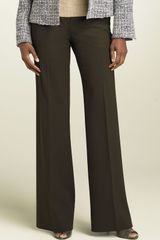 Lafayette 148 New York Delancey Stretch Wool Pants - Lyst