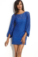 Laundry By Shelli Segal Sand Dollar Lace Shift Dress - Lyst