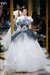 Marchesa Spring 2012 Ombre Gown in Gray - Lyst