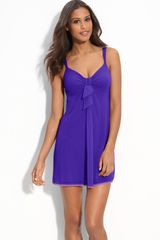 On Gossamer Knotted Mesh Chemise - Lyst