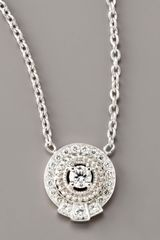Penny Preville Pave Diamond Pendant Necklace - Lyst