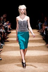 Proenza Schouler Spring 2012 Knee Length Two-Piece Dress - Lyst