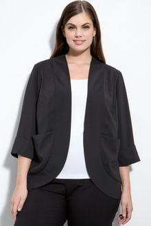 Sejour Three Quarter Sleeve Jacket (plus) - Lyst