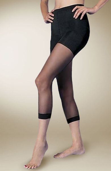 Spanx Footless Bodyshaping Pantyhose With Super Control