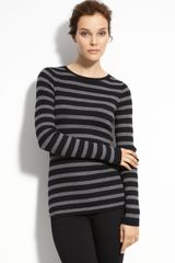 Vince Stripe Sweater - Lyst