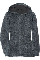 Marc Jacobs Metallic-finish Knitted Hooded Top - Lyst