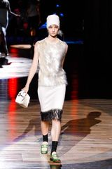 Marc Jacobs Spring 2012 Sequin Hem Skirt in Black - Lyst