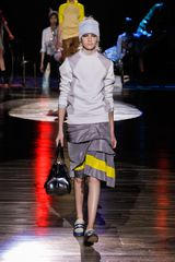 Marc Jacobs Spring 2012 Yellow Highlight Skirt - Lyst